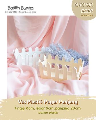 Vas Plastik Pagar Panjang