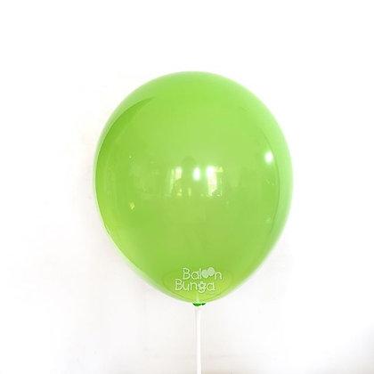 """Balon 12"""" Hijau Lime Doff"""