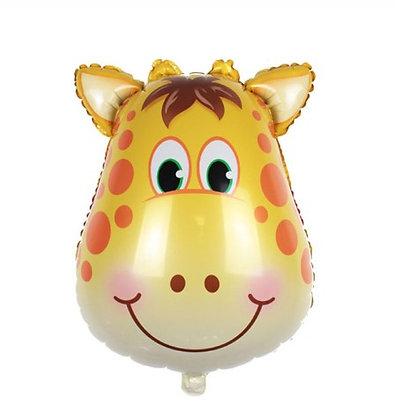 Balon Foil Kepala Jerapah