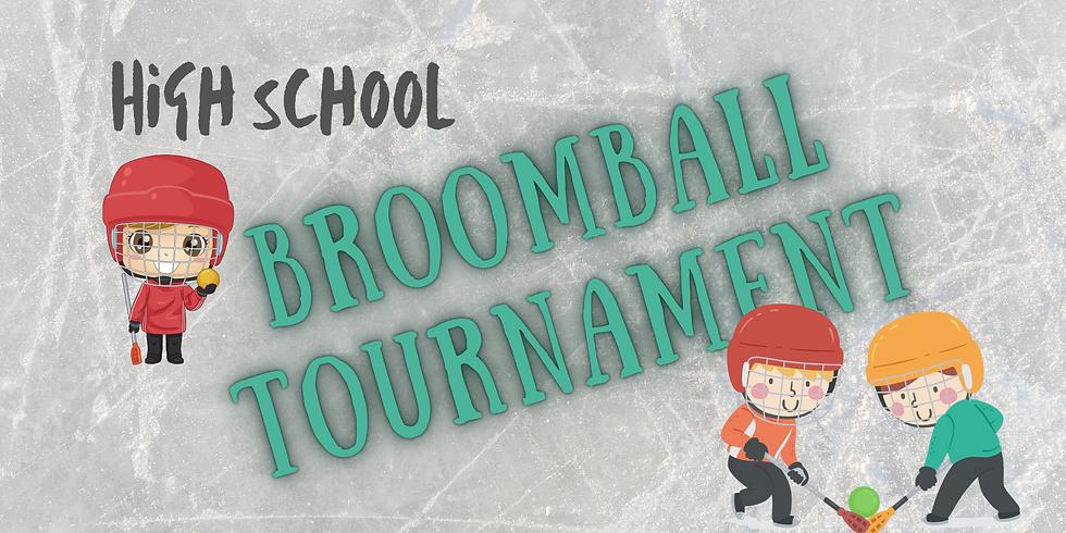 High School Broomball Tournament