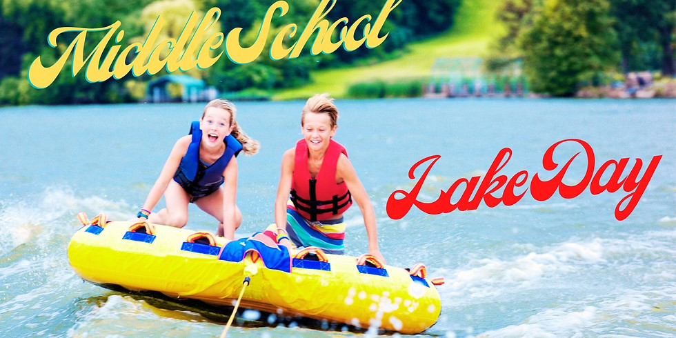Middle School Lake Day