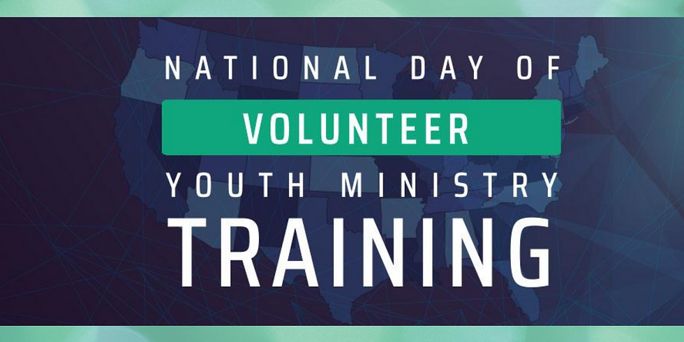 Adult Volunteer Youth Ministry Training
