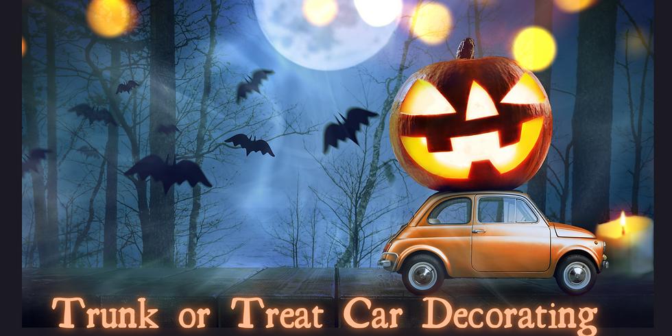 Trunk or Treat Car Decorating