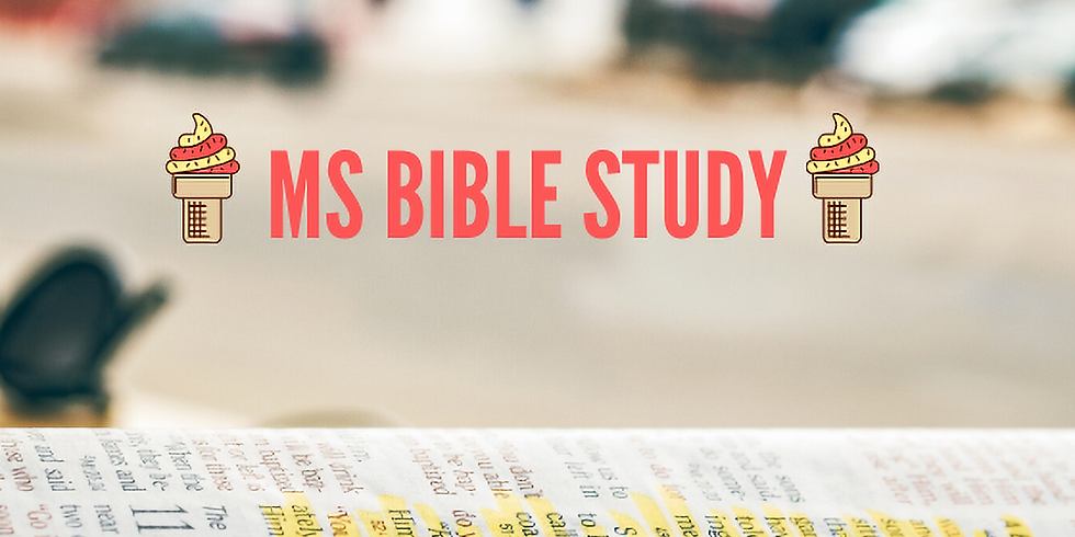 Middle School Summer Bible Study