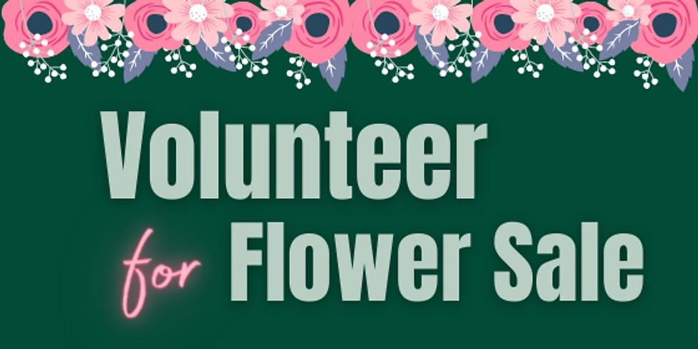 Volunteer for Flower Sale