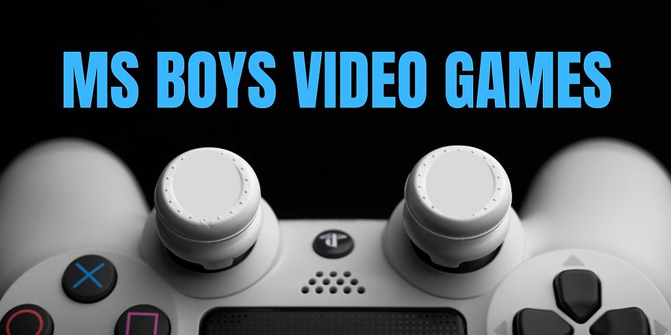MS Boys Video Games