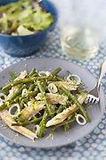 Salade merlu haricots verts