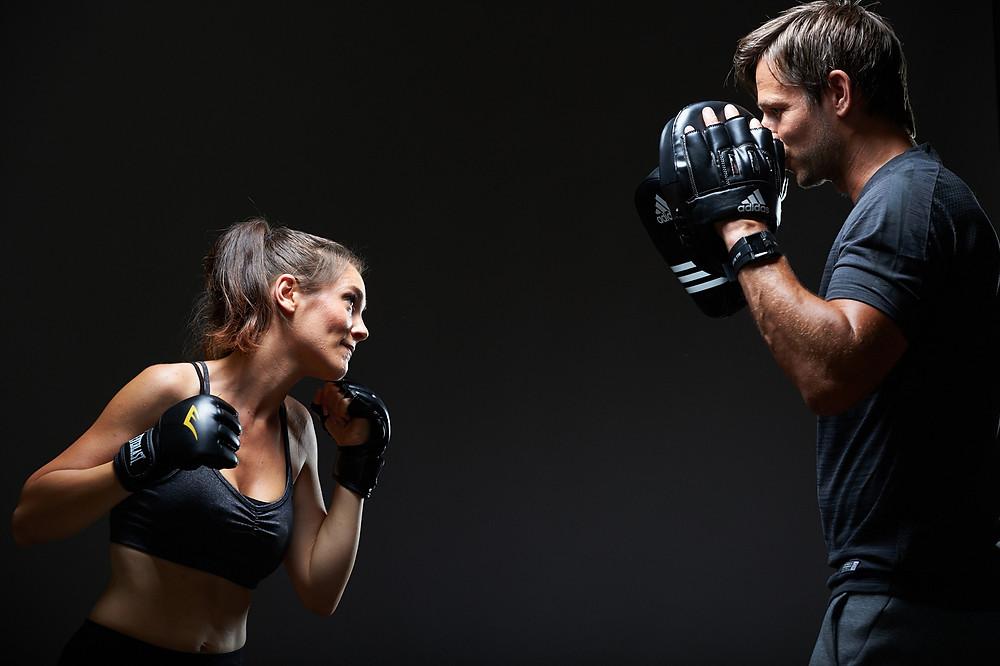 Séances de Coaching à Bordeaux, cours cardio-boxing avec entrainement HIIT