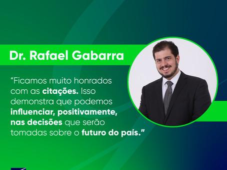 Dr. Rafael Gabarra é citado durante votação da Reforma da Previdência