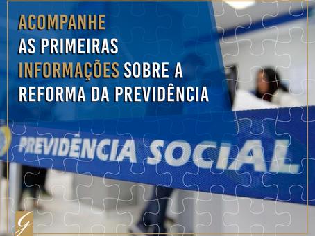 Acompanhe as primeiras informações sobre o texto-base principal da Reforma da Previdência