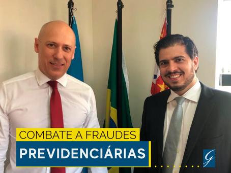 Advogado Rafael Gabarra se reúne com delegado da Polícia Federal de Ribeirão