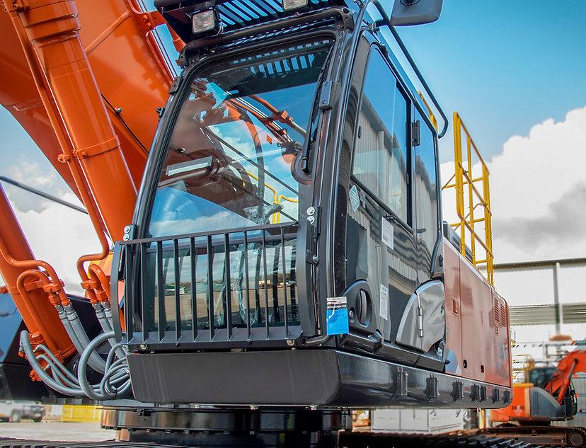 mechanical and engineering excavator machine