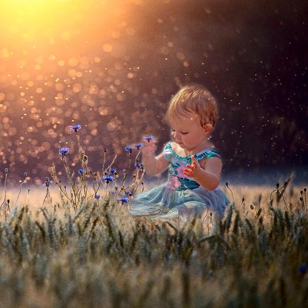 fantasy child portrait