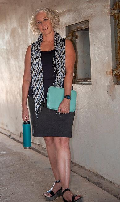 Business headshot of woman standing