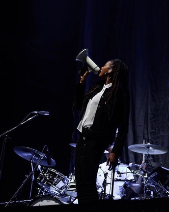 Little Simz at Alexandra Palace