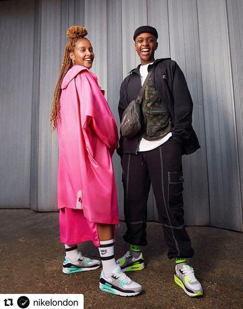NIKE AIR MAX 90s: AIRESS recraft campaign 2020.