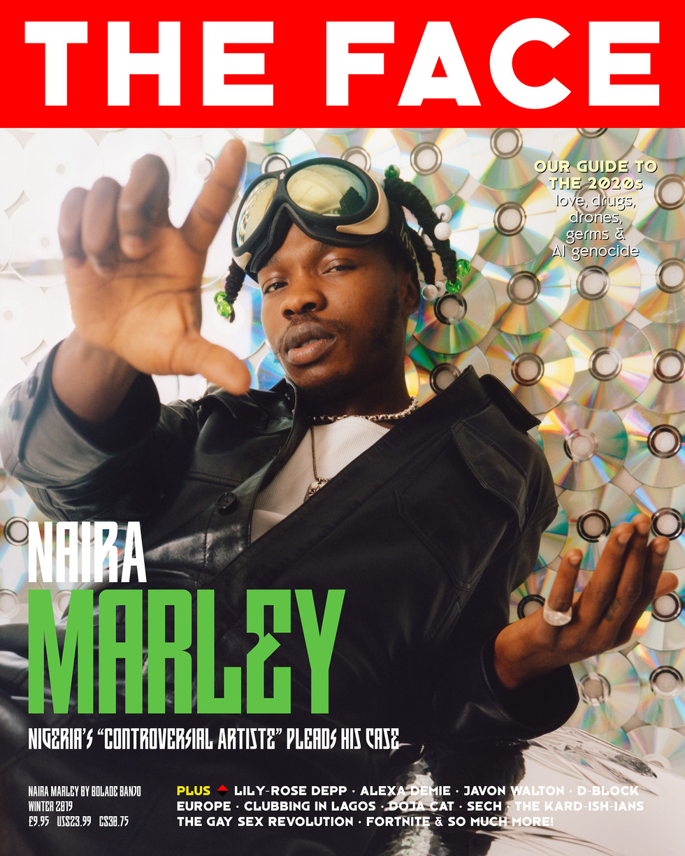 NAIRA MARLEY COVER   THE FACE MAGAZINE