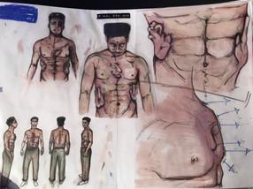 Prostheic movement storyboard