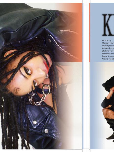 BRICKS- ISSUE 6 X KEYAH/BLU