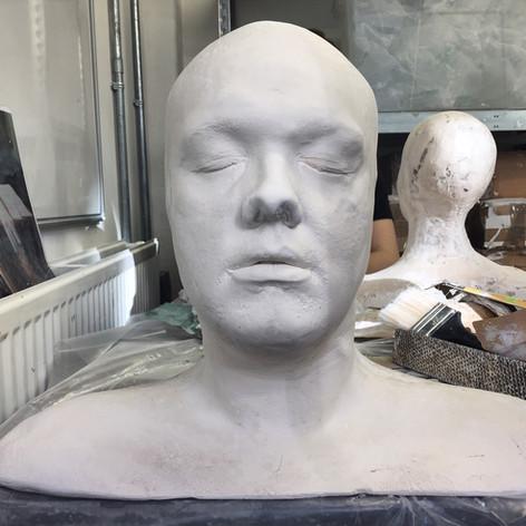 Full head cast [uncleaned]