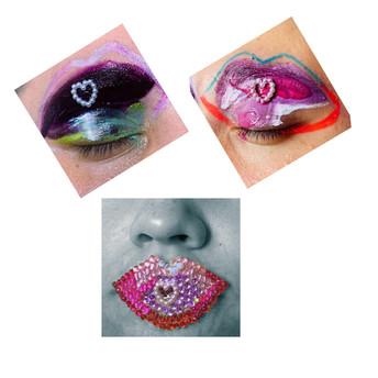 Handmade lips