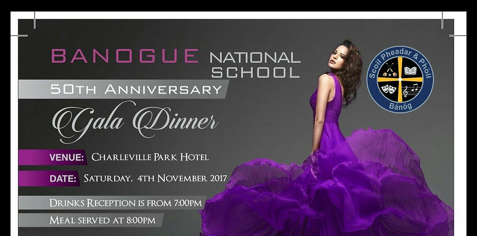 Banogue NS 50th Anniversary Gala Dinner