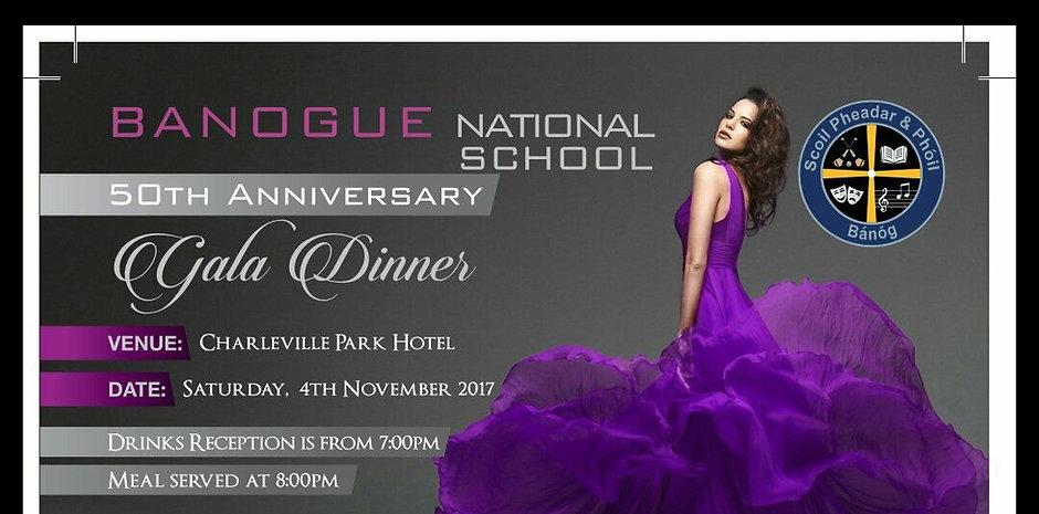 Banogue NS 50th Anniversary Gala Dinner
