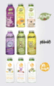 Kids Drink concept designs by Vicky Faulkner Design