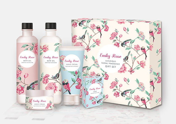 Bath & Body Packaging Design concepts by Vicky Faulkner Design