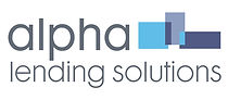 Alpha Lending Solutions logo by Vicky Faulkner Design