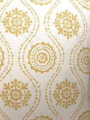 Honfleur Yellow Tasha textiles by Natasha James