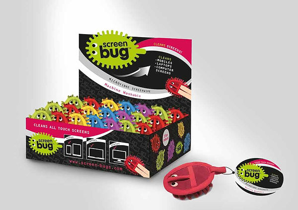 Screen Bug Counter top design by Vicky Faulkner Design