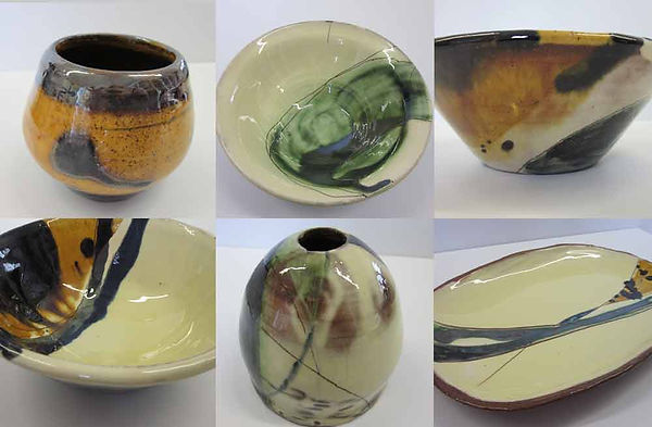 Hand made pottery by Vicky Faulkner Design