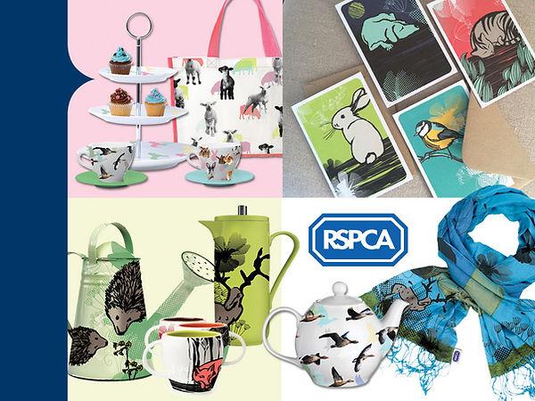 RSPCA licensing Style Guide artwork by Vicky Faulkner Design