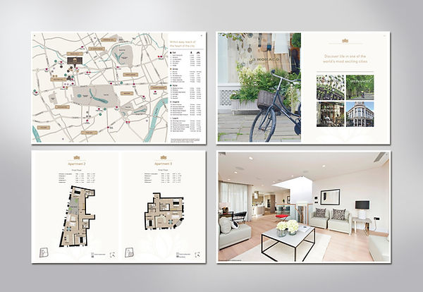 Property brochure design by Vicky Faulkner Design