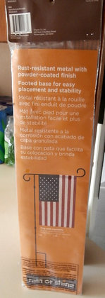 Garden flag holder