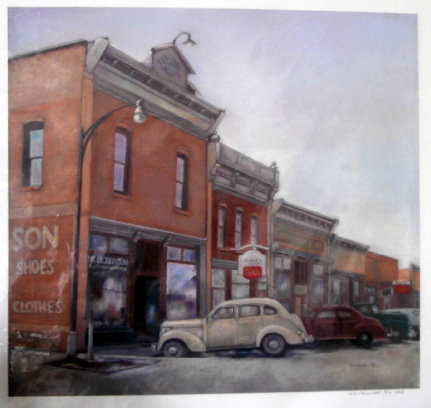 Slater Main Street 1951