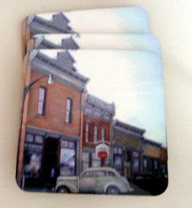 """""""Main Street"""" Coaster"""