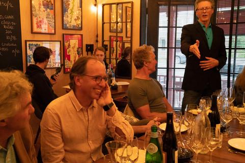 Wine tasting and seminar at Remedy Wine Bar