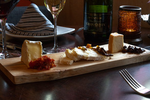 Wine and cheese plate at Remedy Wine Bar