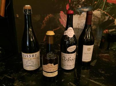 Vin Jaune, Méthode Traditionnellel and Bacchus Arbois Trousseau Reserva at Remedy Wine Bar