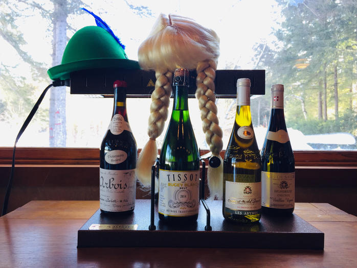 Jura and Savoie wines with Raclette