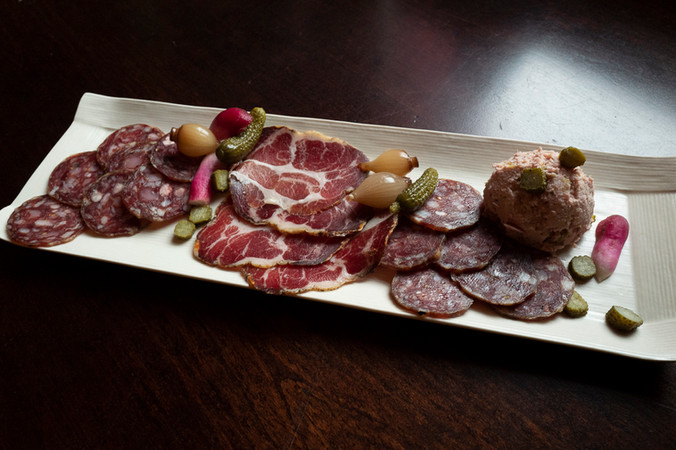 Charcuterie plate at Remedy Wine Bar and Restaurant
