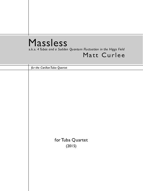 Massless (Tuba Quartet)