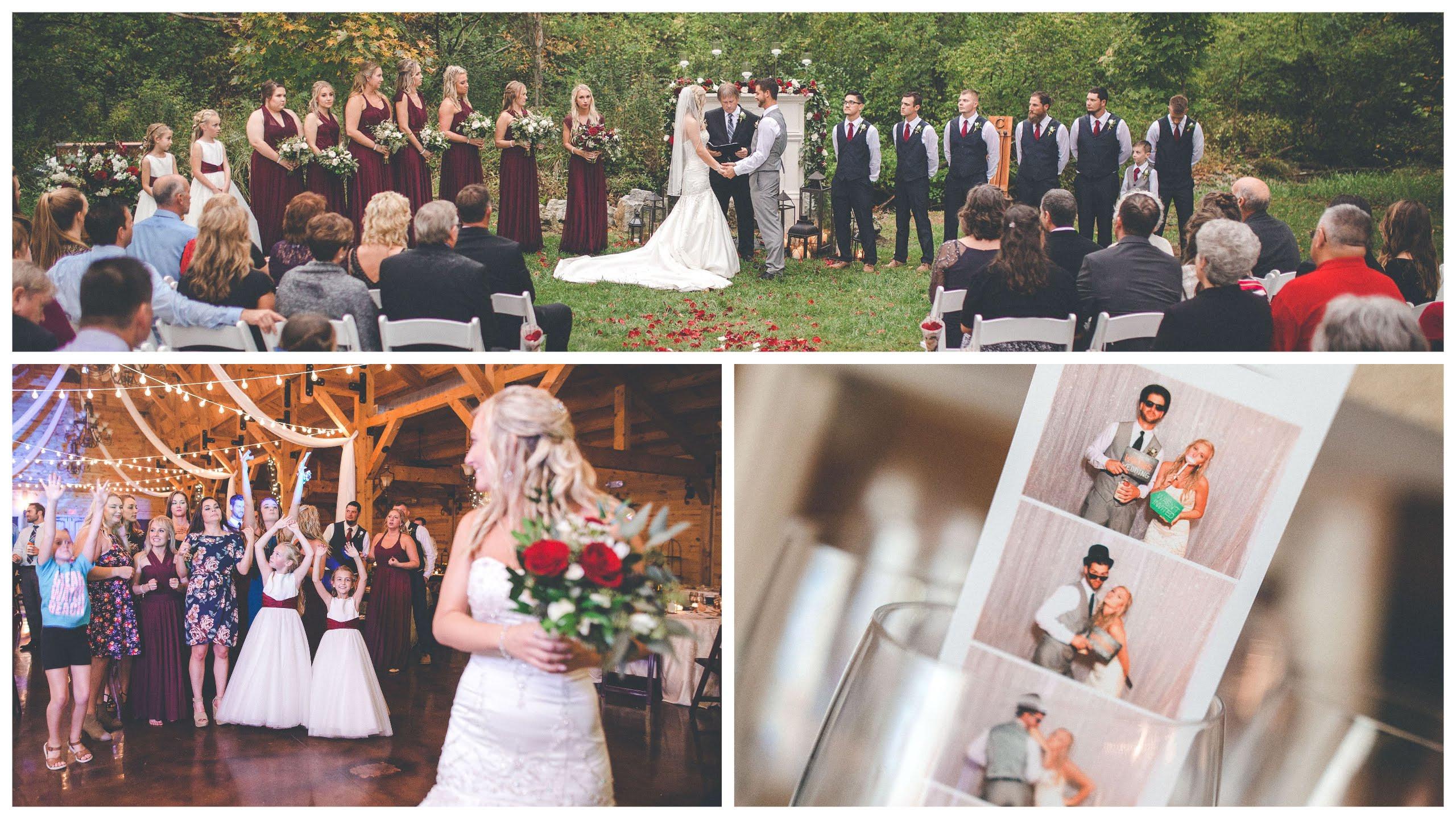Ceremony, Reception & Photo Booth