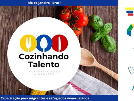 """Projeto """"Cozinhando Talento"""" aposta no futuro dos venezuelanos migrantes"""