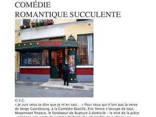 """""""Une comédie succulente """" pour une catalane à Paris"""