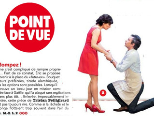 Article dans Point de Vue