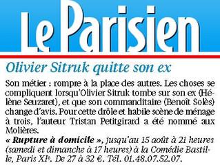 Sélection spectacles du Parisien