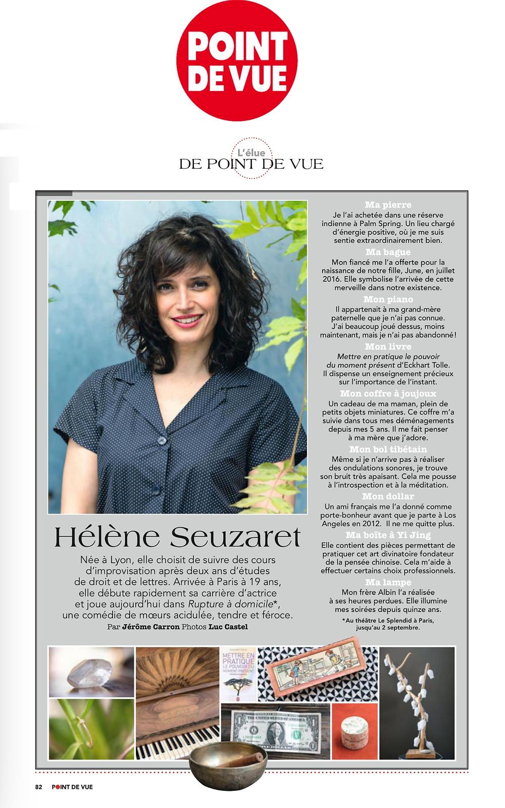 Les objets d'Hélène Seuzaret